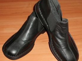 Новые ботинки Rieker кожаные прошитые р.40 ст.26