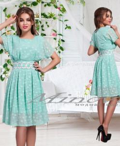 Платье Каролина-Ментол