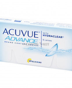 Acuvue Advance with Hydraclear  6 линз