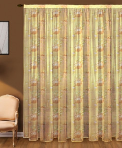 Артикул 5539 Тюль с рисунком 3м