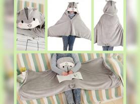 Одеяло накидка для детей