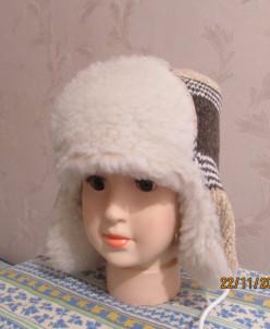 шапка зимняя на ОГ до 56 см