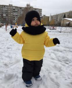 """Куртка """"Замок сзади"""" ЗИМА"""