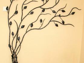 Кованое дерево, художественная ковка.