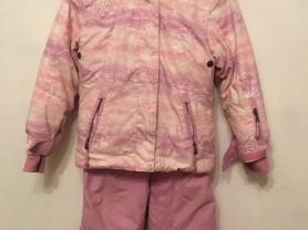 зимний костюм для девочки glissade