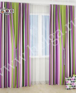 Джозу Пурпур арт.ТД5258 (145х250-2шт) штора
