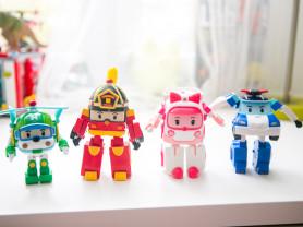 Набор игрушек Робокары (Поли, Хели, Рой, Эмбер)