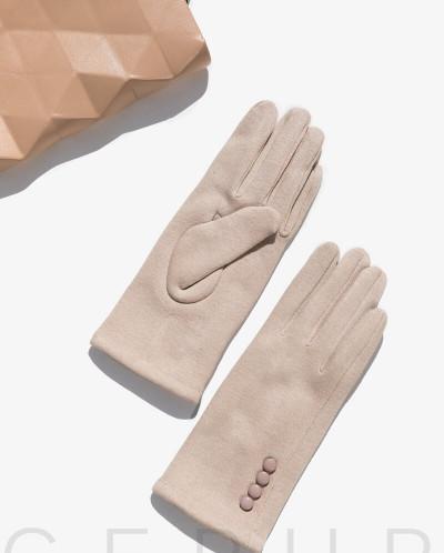 Теплые женские перчатки