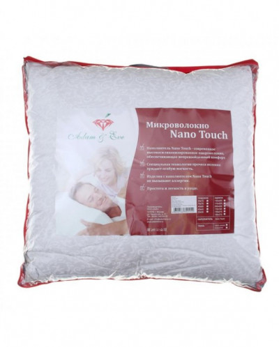 Подушка Adam&Eve Nano Touch CLASSIC 70*70 см, микроволокно