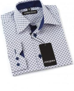 Рубашка с рисунком по ткани 116-146 см