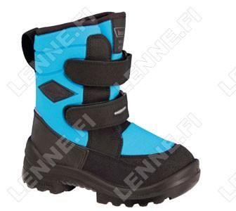 Зимние ботинки на липучках Crosser Neonblue Kuoma
