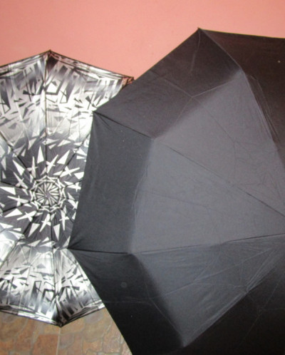 Мужской зонт Gilux черный 137см