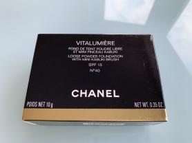 Новая Chanel Пудра Vitalumiere N40,  Оригинал!