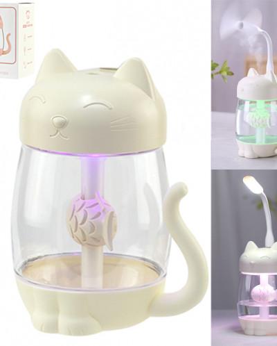 """Увлажнитель воздуха + настольная лампа с подсветкой """"Кот"""""""