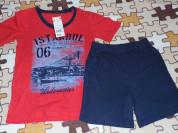 Комплект новый ( Футболка+шорты) р.122-128