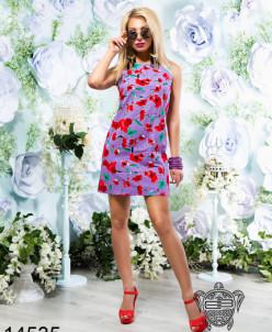 Летнее платье из льна - 14535