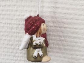 Сувенирная фигурка Ангелочек, подвеска