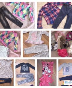 одежда и аксессуары для девочек с2-6 лет