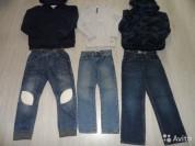 Фирм. джинсы кенгуру толстовки кардиганы 4-8 лет