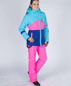 Куртка Snow Headquarter V-8763, Розово-голубой