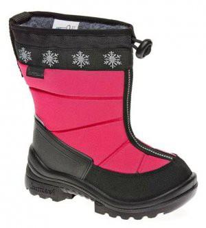 Зимние сапоги на утяжке Lumieskimo Pink Kuoma