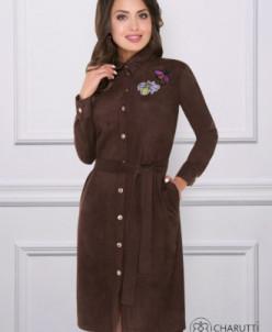Платье-рубашка В новом образе (нью брауни)