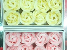 Праздничный набор мыльных бутонов нежных роз