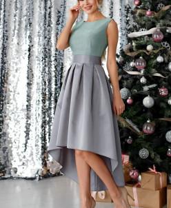 Платье Анита цвет пыльно-фисташковый (П-180-5)