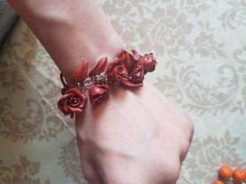 Браслет- цветы
