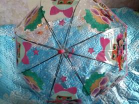 зонты с куклой лол