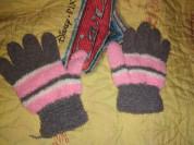 Перчатки яркие хорошо тянутся и садятся по руке