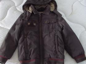 Куртка деми, пр-во Турция, р-р 3-5 лет