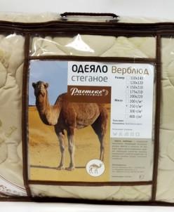 Одеяло верблюжья шерсть двусп. 220-200