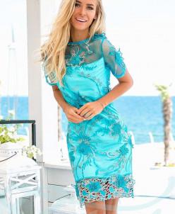 Нарядное платье с вышивкой Gepur