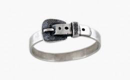 Кольцо из серебра Поясок Юмила