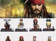 Минифигурки LEGO (Лего) Пираты Карибского моря.