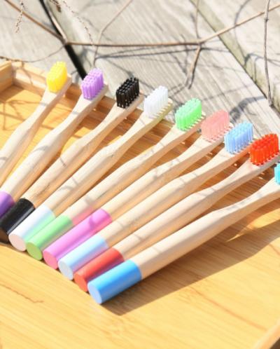 Зубная щетка бамбуковая ДЕТСКАЯ