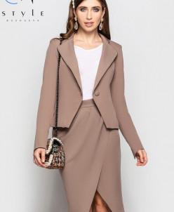 Костюм 48811 (пиджак+юбка)