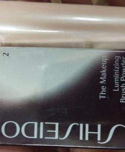 Shiseido мерцающая перламутровая пудра 2 сменный блок