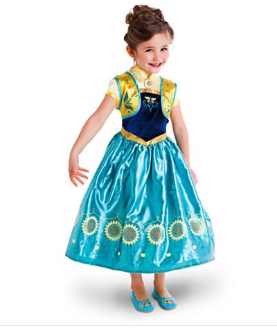 Нарядное платье Anna из мультфильма Холодное сердце