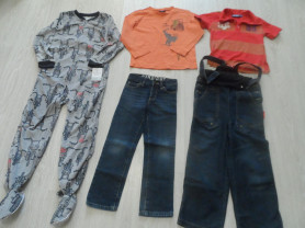 Новые и мало б/у слипы лонги джинсы поло на 4-7 л