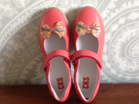 Туфли для девочки.34 размер, кожа, Бельгия