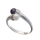 Кольцо с речным жемчугом
