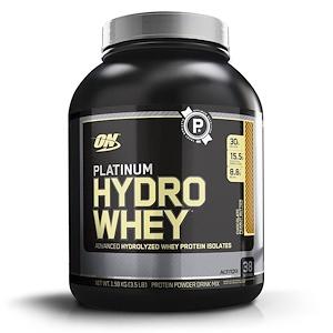 Optimum Nutrition, Platinum Hydro Whey (1.59кг) Butter
