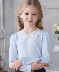 Трикотажная блузка М*икелла ваниль