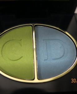 Dior тени 2 цветные 355