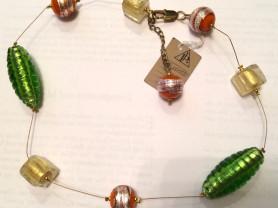 Ожерелье из сусального золота.