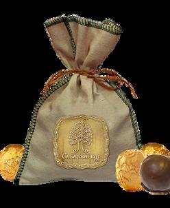 Кедровый грильяж с клюквой в шоколадной глазури