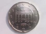 20 Евро Центов 2002 год F Германия