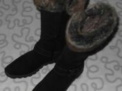 Сапоги зимние, замшевые ЛЕЛЬ, 40 размер